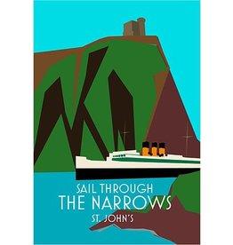 Junk Junk-Poster-Sail Through The Narrows-12x18