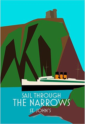 Junk Junk-Poster-Sail Through The Narrows-12x18