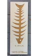 Twisted Sisters boutik Twisted Sisters-Fishbone Bookmark