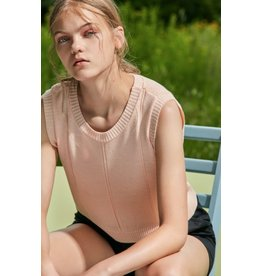 Eve Gravel Eve Gravel-Chutes Crop Top
