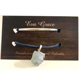 Eva Grace Eva Grace-Choker w/ Mineral -Navy