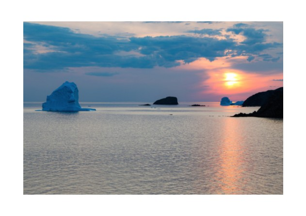 Hancock Gallery Jonathan Hancock-Fire and Ice Twillingate
