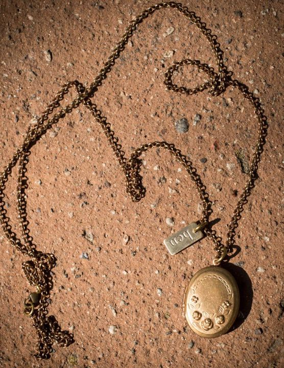 HEN Jewelry Hen-Primrose-Brass Locket