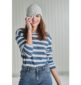 24 Colors 24 Colors-Striped Pullover