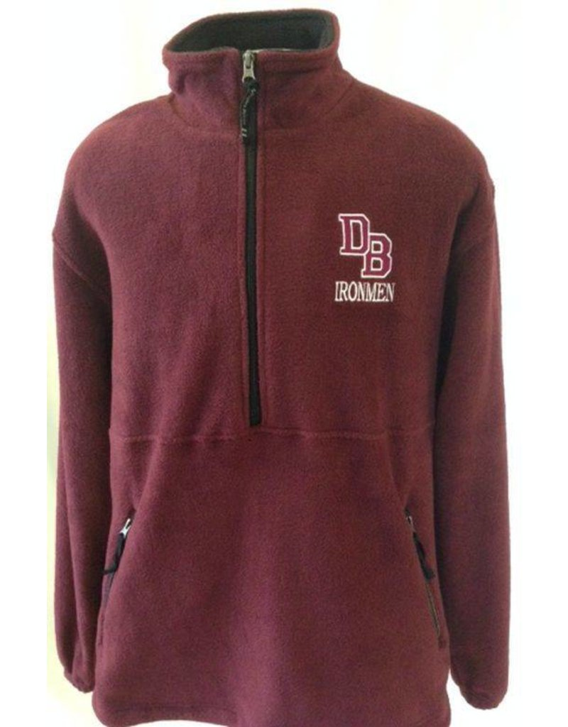 Charles River Adirondack Fleece Pullover Jacket - Don Bosco Prep ...