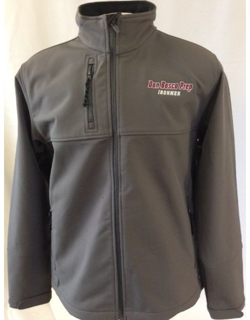 Charles River Grey Soft Shell Jacket