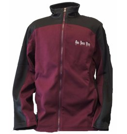 Charles River Maroon/Black Hexport Jacket Small