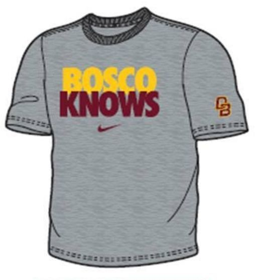 "Nike Nike ""Bosco Knows"" Short Sleeve T Shirt"