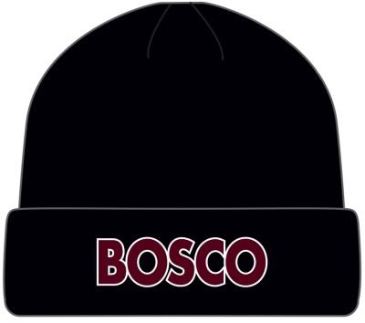 Pukka Pukka hat in black with BOSCO embroidered on front