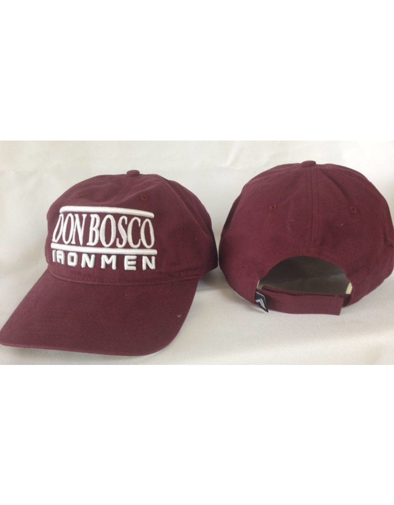 Pacific Headwear DON BOSCO PREP IRONMEN adjustable hat