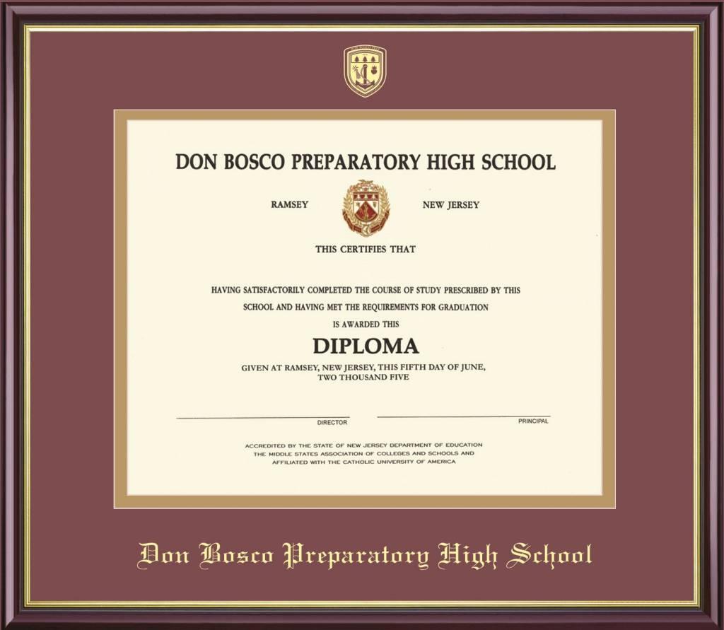 Framing Success Diploma Frame
