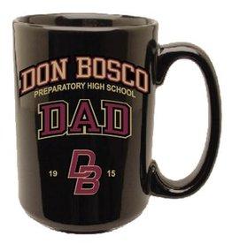 R.F.S.J Black Dad Mug - 15 0z.