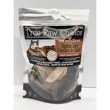 True Raw Choice True Raw Choice Rabbit Ears 60g Pet