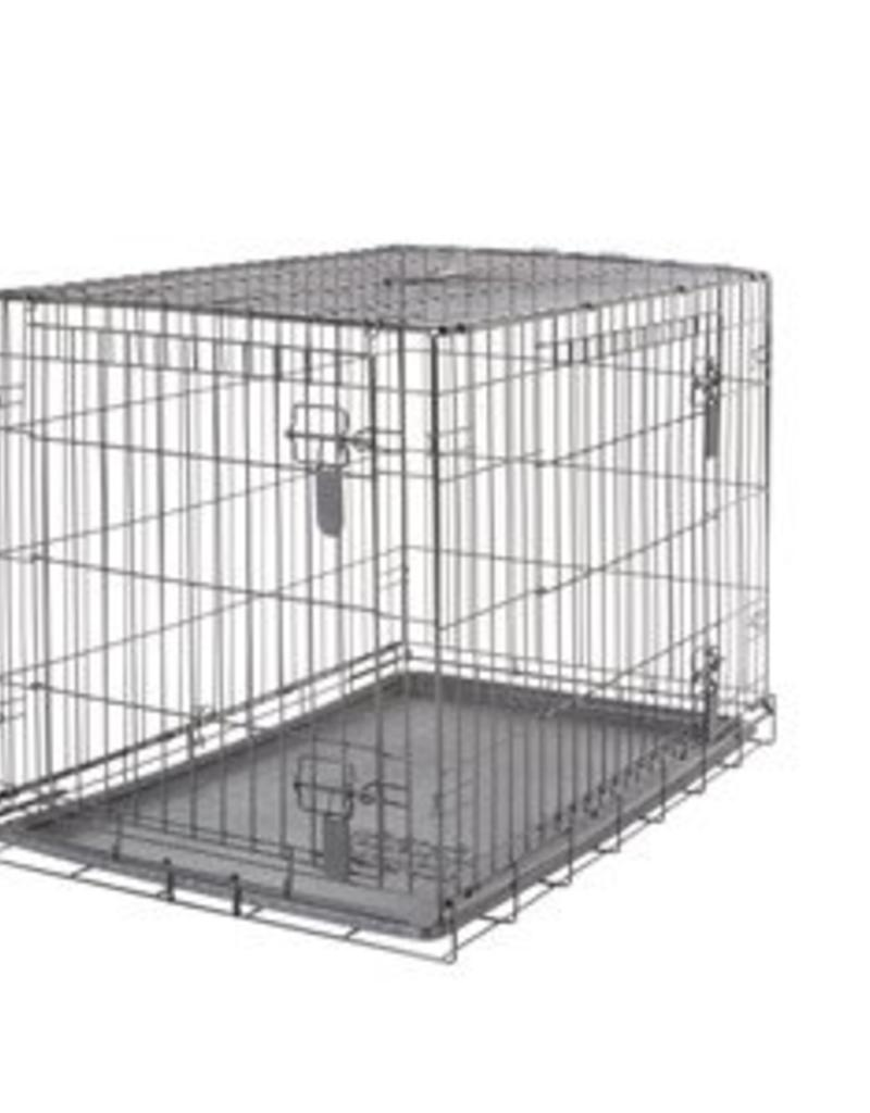Dogit Dogit Two Door Wire Home Crates with divider - Large - 91 x 56 ...