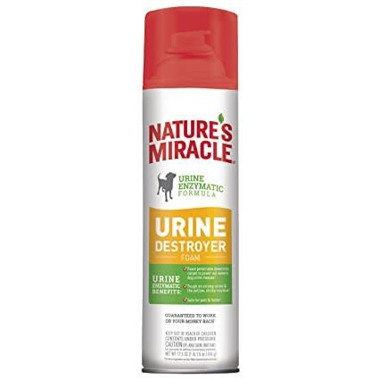 Nature S Miracle Nature S Miracle Dog Urine Destroyer Foam