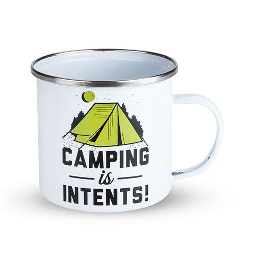 Foster & Rye Camping Is Intents Enamel Mug