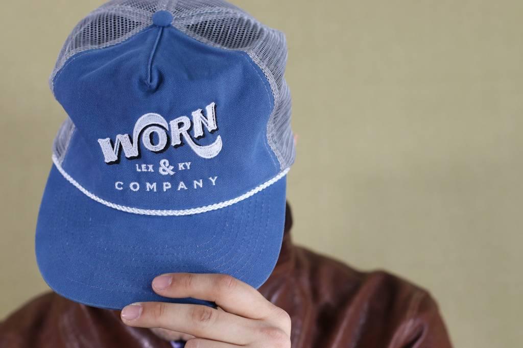 Worn Mesh Trucker Hat