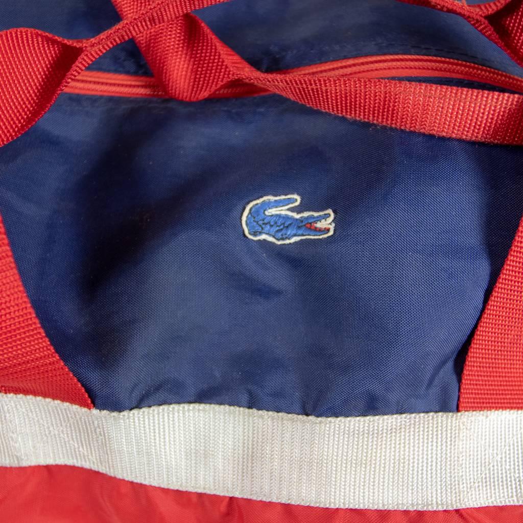 Vintage Lacoste Gym Bag