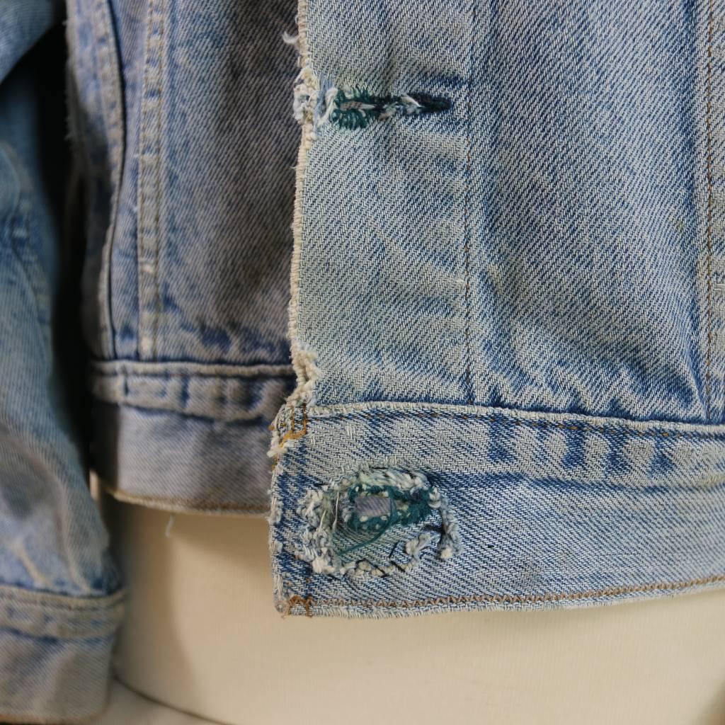 Levi's denim jacket women xl