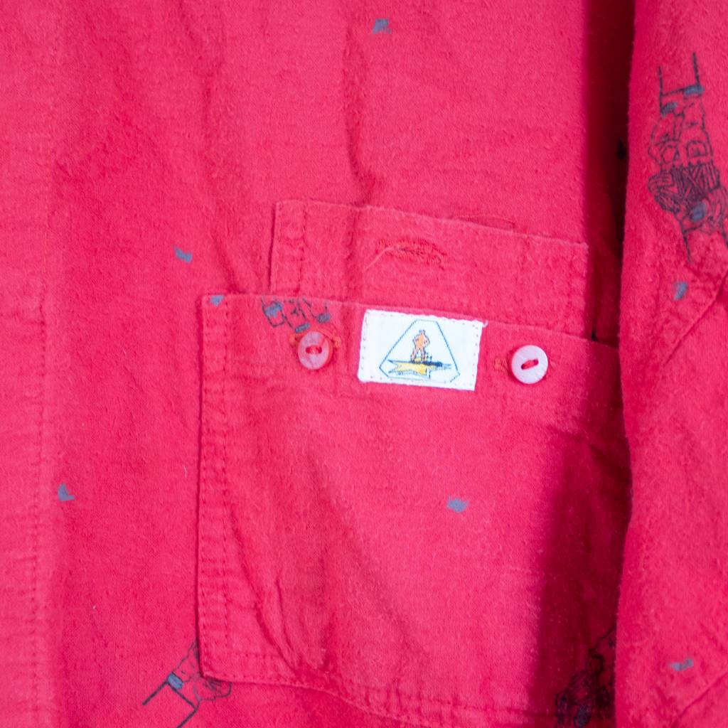 Painters Red Shirt