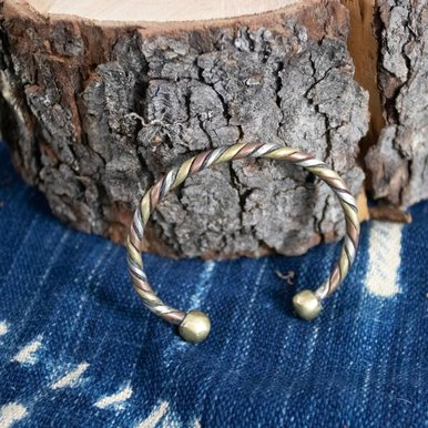 Copper Brass Sterling Twist