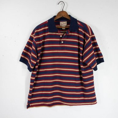 Woolrich Thick Striped Polo