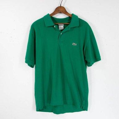 Green Lacoste Polo