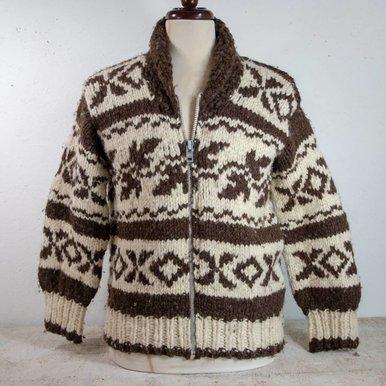 Cowichan Sweater Handknit