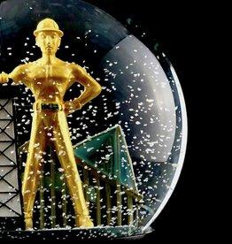 Souvenir Golden Driller Snow Globe
