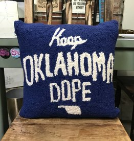 Keep Oklahoma Dope Pillow