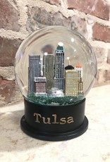 Ida Red Tulsa Snow Globe