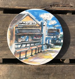 Souvenir Weber's Hamburgers Coaster