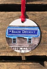Ida Red Brady District Ornament