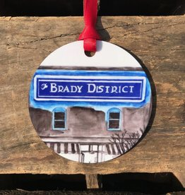 Christmas / Holiday Brady District Ornament
