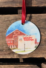 Christmas / Holiday Brady Theater Ornament
