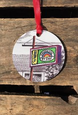 Christmas / Holiday Brookside By Day Ornament