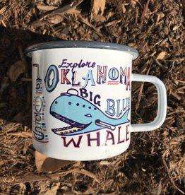 Ida Red Explore Oklahoma Camper Mug