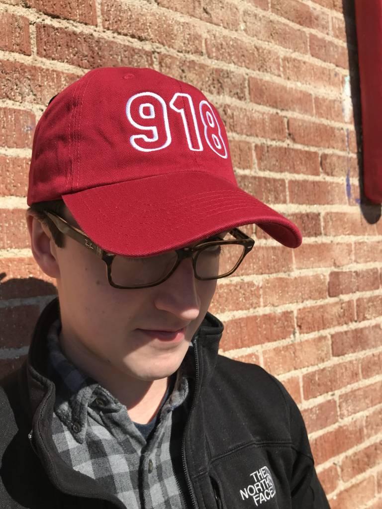 918 Hat, Vintage Red
