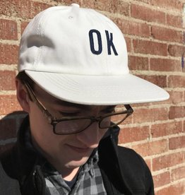 Just Ok Shop Hat, Off White Twill