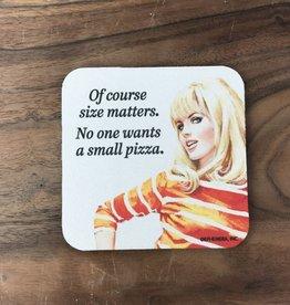 Small Pizza Coaster