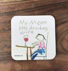 Mommy Wine Coaster