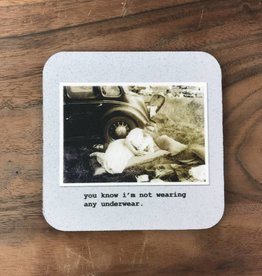 No Underwear Coaster