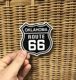 Oklahoma Route 66 Sticker