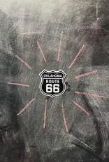 Oklahoma Route 66 Sticker