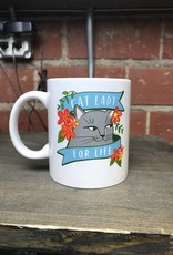 Ida Red Cat Lady Mug