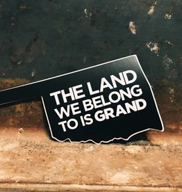 Ida Red The Land We Belong To Is Grand Sticker