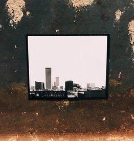 Ida Red Handcut Tulsa Skyline Magnet