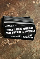 Ida Red American Tulsa Bumper Sticker