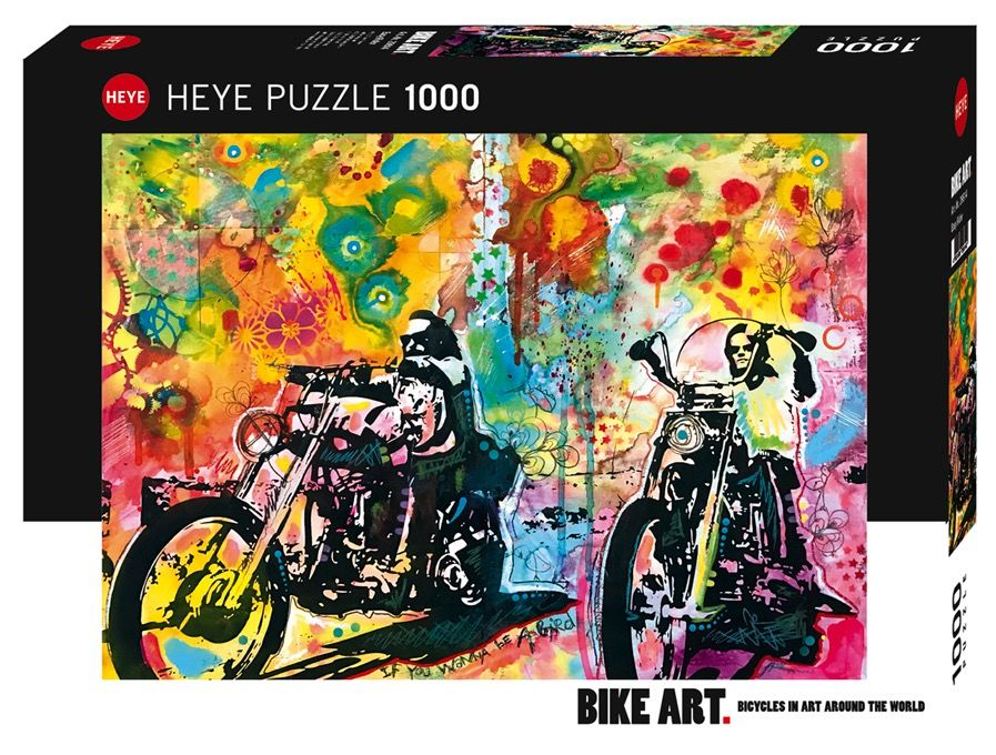 Motorcycle Bike Art 1000pc Puzzle