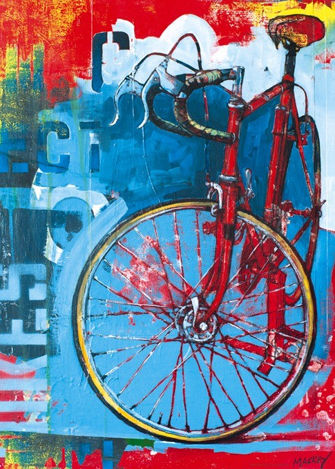 Red Limited Bicycle 1000pc Puzzle